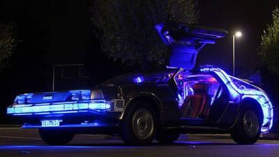 Back to the Future DeLorean huren in Amsterdam