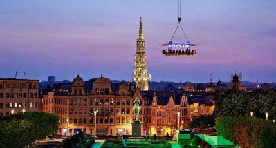 Bedrijfsuitje Amsterdam, Utrecht, Den Haag, Rotterdam - Dinner in the sky, exclusieve events