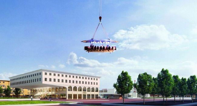 Bedrijfsuitje Amsterdam, Utrecht, Den Haag, Rotterdam - Dinner in the sky, teambuilding
