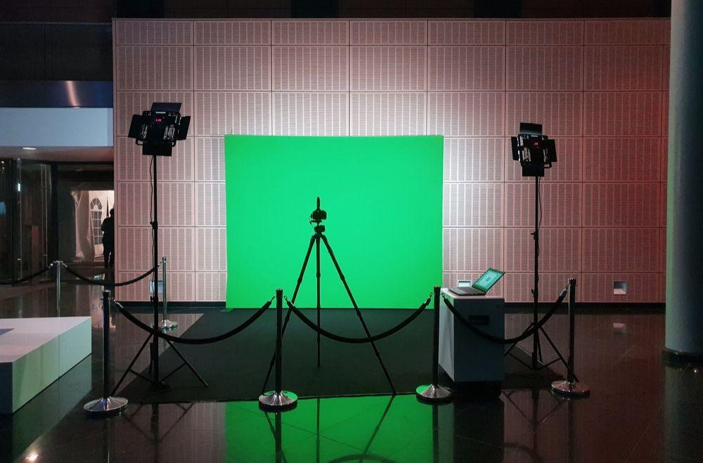 Greenscreen foto studio huren
