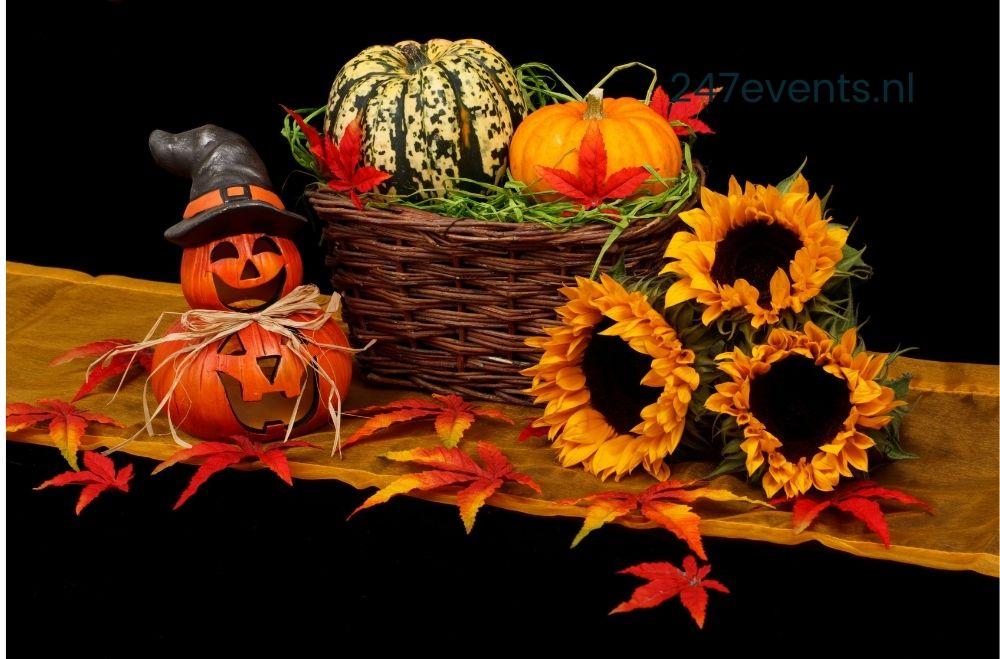 Halloweenfeest organiseren, decoratie en aankleding