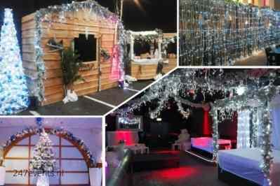 Kerstfeest zakelijk evenement of personeelsfeest met thema Ice Age, Winterwonderland of Frozen afbeelding 11