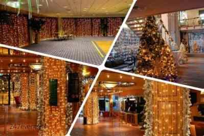 Kerstfeest zakelijk evenement of personeelsfeest met winter thema Christmas Fairy tale galerij afbeelding 9