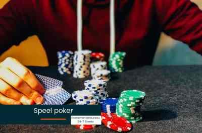 Pokeren tijdens een Las Vegas Bedrijfsfeest