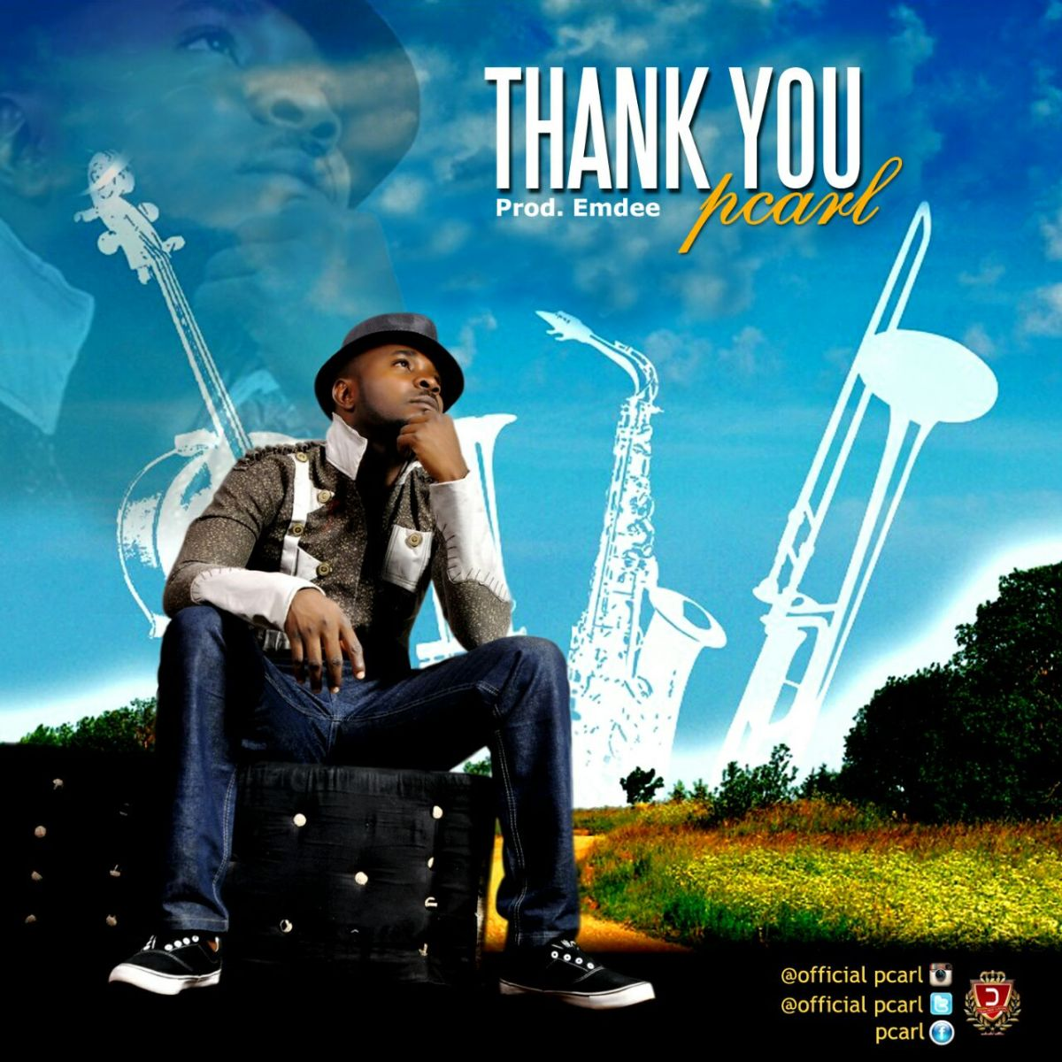 #GospelVibes : ThankYou - Pcarl @officialPcarl || Free Download