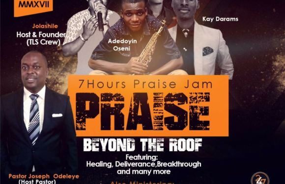 The Living Sacrifice crew in conjunction with  Winner Youth Alive Fellowship Presents #PraiseBeyondTheRoof