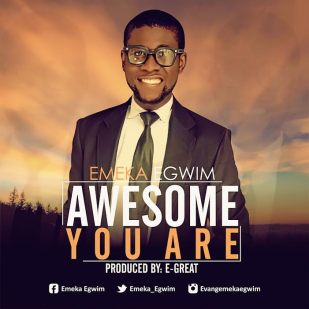 Audio : Awesome You Are - Emeka Egwim 247Gvibes