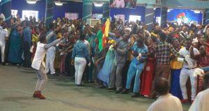 me held @ Mercy City International Warri