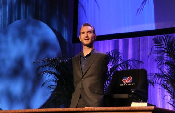 "POPULAR LIMBLESS EVANGELIST 'NICK VUJICIC' IS SET TO RELEASE MUSIC ALBUM, TITLED: "" BRIGHTER WORLD"""