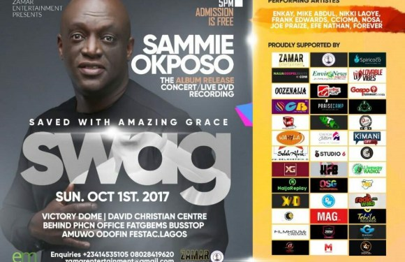 Event: Sammie Okposo SWAG Album Listening Concert @sammieokposo