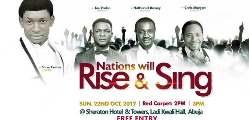 STEVE CROWN – NATIONS WILL RISE AND SING @SteveCrownmusic @gospellyricsng