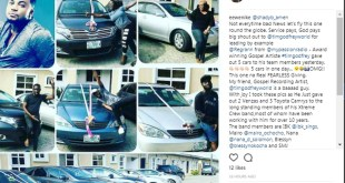 Tim Godfrey Frees His Band Members From Uber, Acquiring Them New Rides