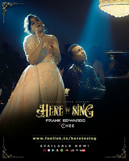 "FRANK EDWARDS PREMIERS NEW SINGLE ""HERE TO SING"" FT CHEE @frankrichboy"