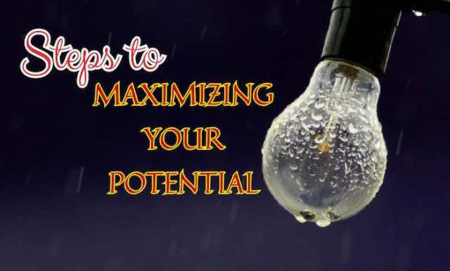 Article: STEPS TO MAXIMIZING YOUR POTENTIAL