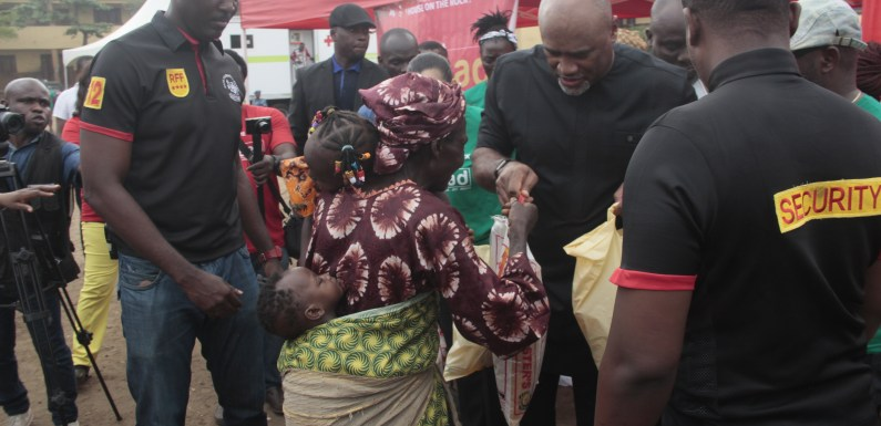 House on the Rock Spreads Christmas Cheer across Lagos with Gifts of Food and Free Health Care @houseontherockc