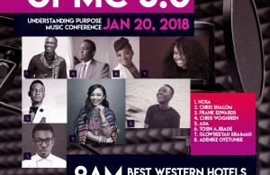 Ada, Glowreeyah, Frank Edwards & More Set For UPMC 3.0 | Jan. 20th, 2018