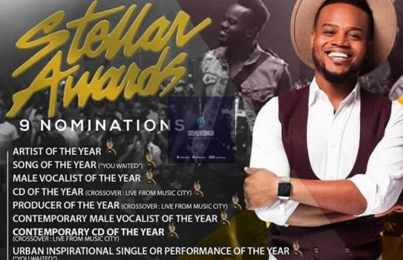 Award Winning Music Minister Travis Greene  hits Nine (9) Stellar Awards Nominations For Crossover Album