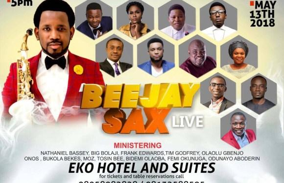 #Event: #Beejaysaxlive2018 Artiste lineup Unveiled @beejaysaxbolaji