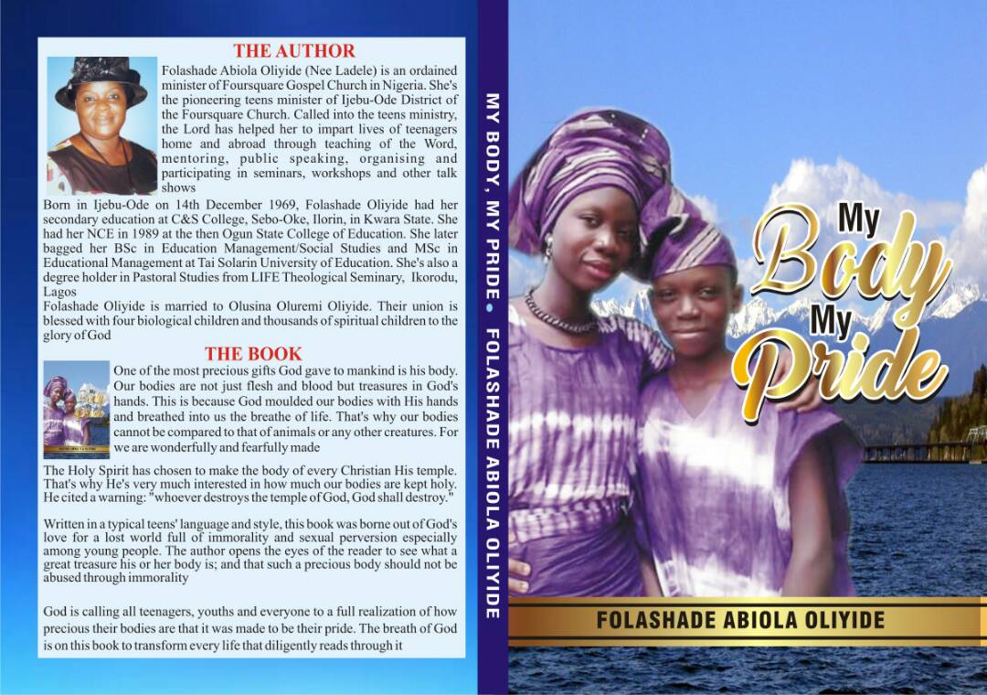 #Event : Book Launch (My Body My Pride) - Folashade Abiola Oliyide