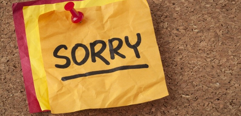 #Articles : Reasons Why You Must Learn To Apologize