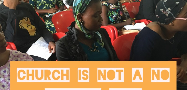 #Article : Church Is Not A No Offense Club – Do Not Be Deceived.