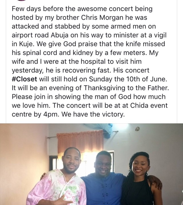 Solomon Lange payed a visit to the attacked (Chris Morgan)