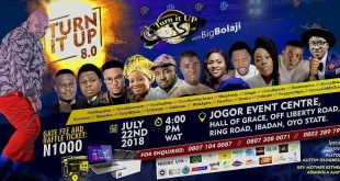 TURN IT UP WITH BIG BOLAJI - The 8th Edition