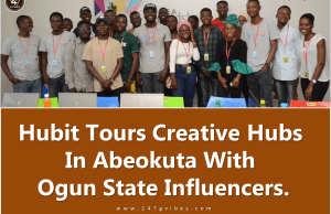 Hubit Tours Creative Hubs In Abeokuta With Ogun State Influencers