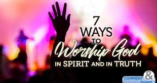 7 ways to worship god