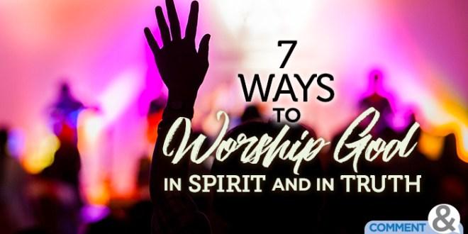 7 ways to worship god