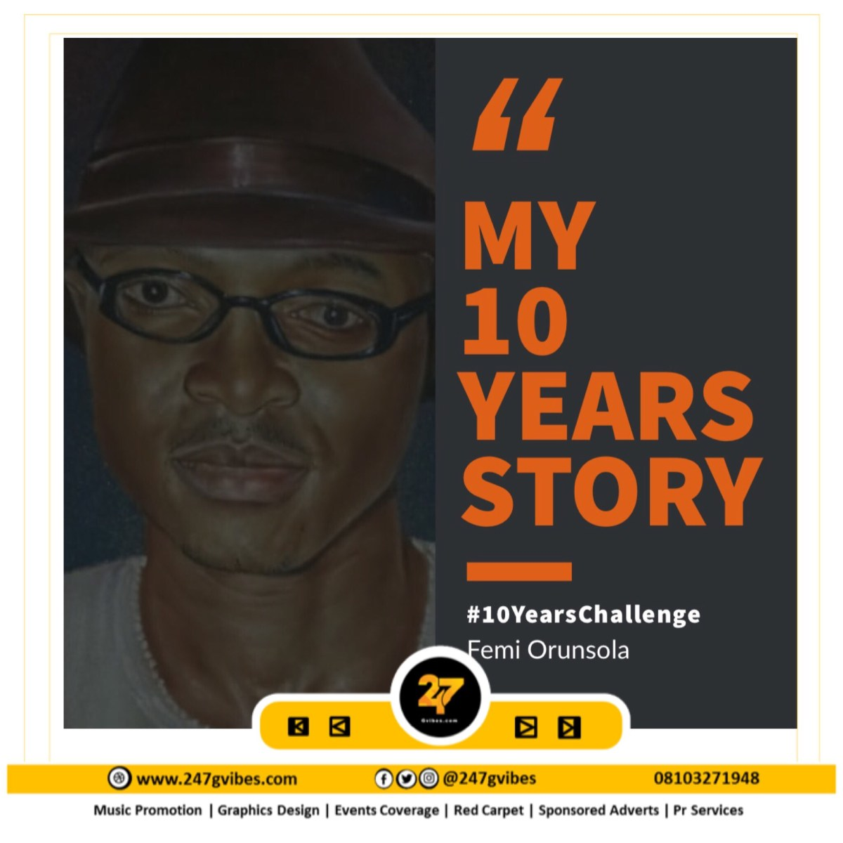 Article: Mapoly Lecturer Femi Orunsola Shares His 10 Years Story #10YearsChallenge | @OmobaOrun_98662