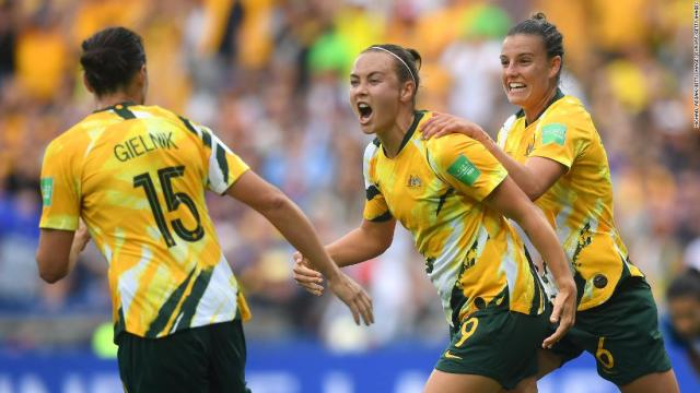 Women's World Cup: Australia beats Brazil after brilliant comeback – CNN