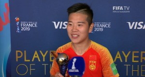 Li Ying – Player of the Match – South Africa v China PR – FIFATV