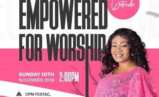 Dera Getrude Rounds Off The Year With Empowered for Worship Mega Concert!