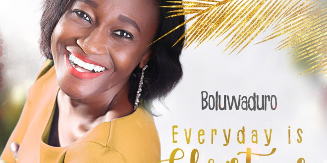 New Music : Everyday Is Christmas – Boluwaduro | @iamboluwaduro
