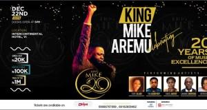 mike aremu celebration concert | 247Gvibes