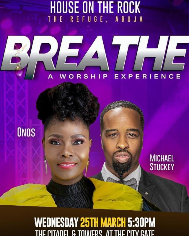 Onos Ariyo Breathe Concert Abuja