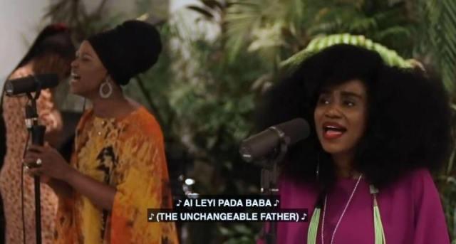 TY Bello's Spontaneous Worship with Sola Allyson - 'Aileyi Pada