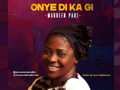 Onye Di Ka By Maureen Paul