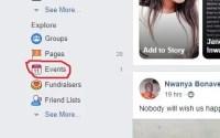 Where To Find Birthdays on Facebook