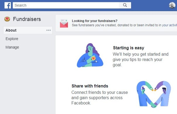 How to start a Birthday fundraiser on Facebook