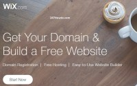 Register Free Domains wix