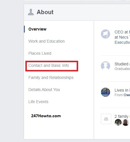 How to change my gender on Facebook