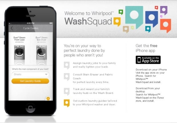 #WhirlPoolWashSquad Makes Helping with Laundry Fun:  App By @WhirlpoolUSA Gets  #Kids Eager to Help! #Spon