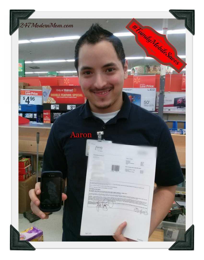 #FamilyMobileSaves #shop #cbias Aaron