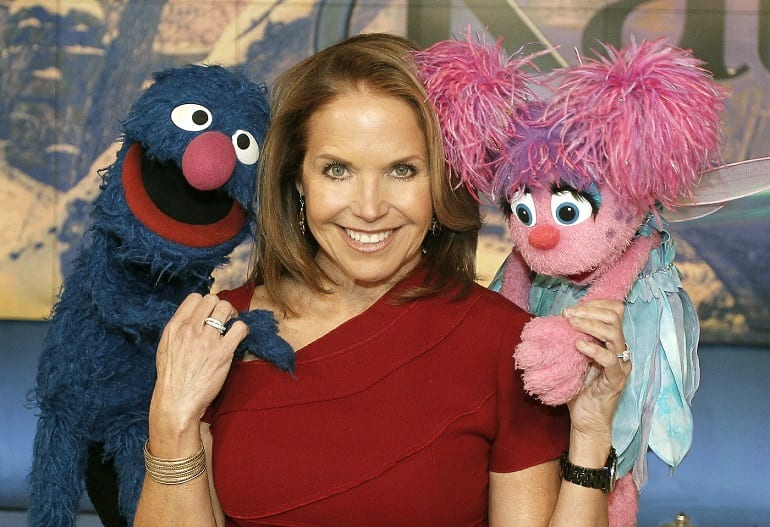 Katie Features Sesame's Street's Grover & Abby Cadabby