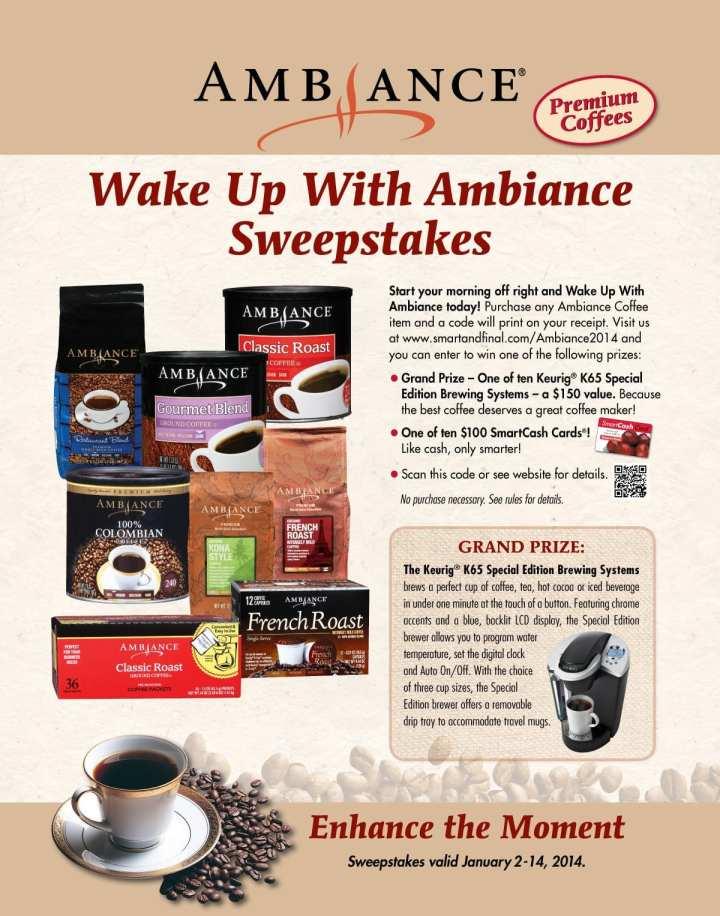 #Shop #ChooseSmart Ambiance Giveaway