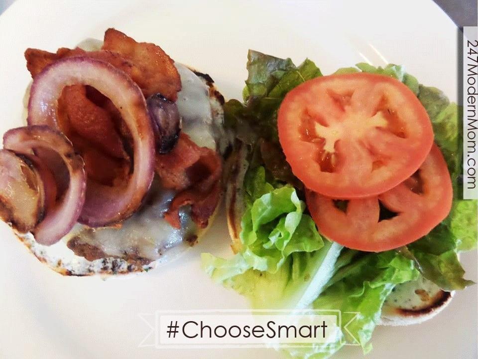 #Shop #ChooseSmart #Cbias Burger Prep