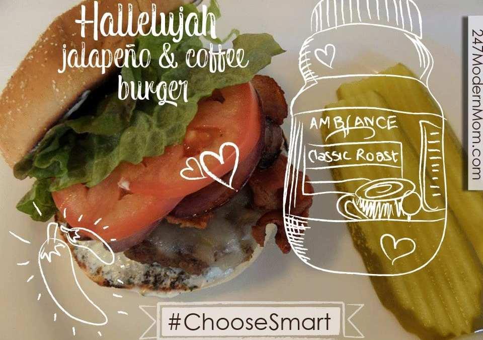 Hallelujah Jalapeño & Coffee Burger Recipe
