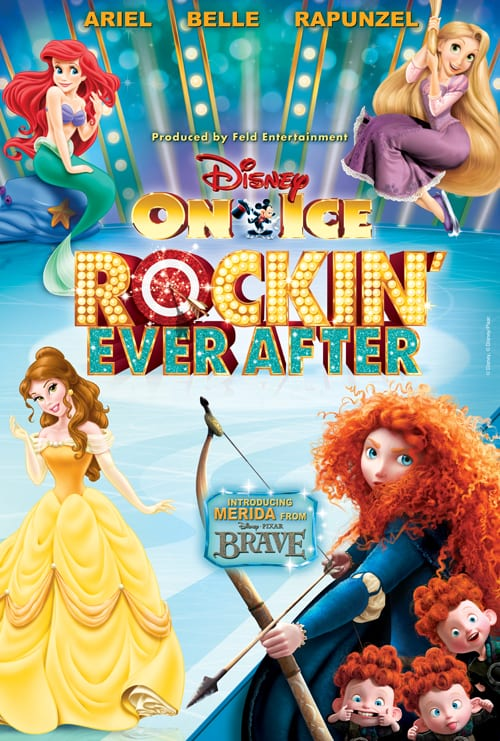 Disney On Ice presents Rockin' Ever After:  Returns to the San Jose and Oakland – 02/19/14 – 03/02/14:  Get Your Discount Code Today!